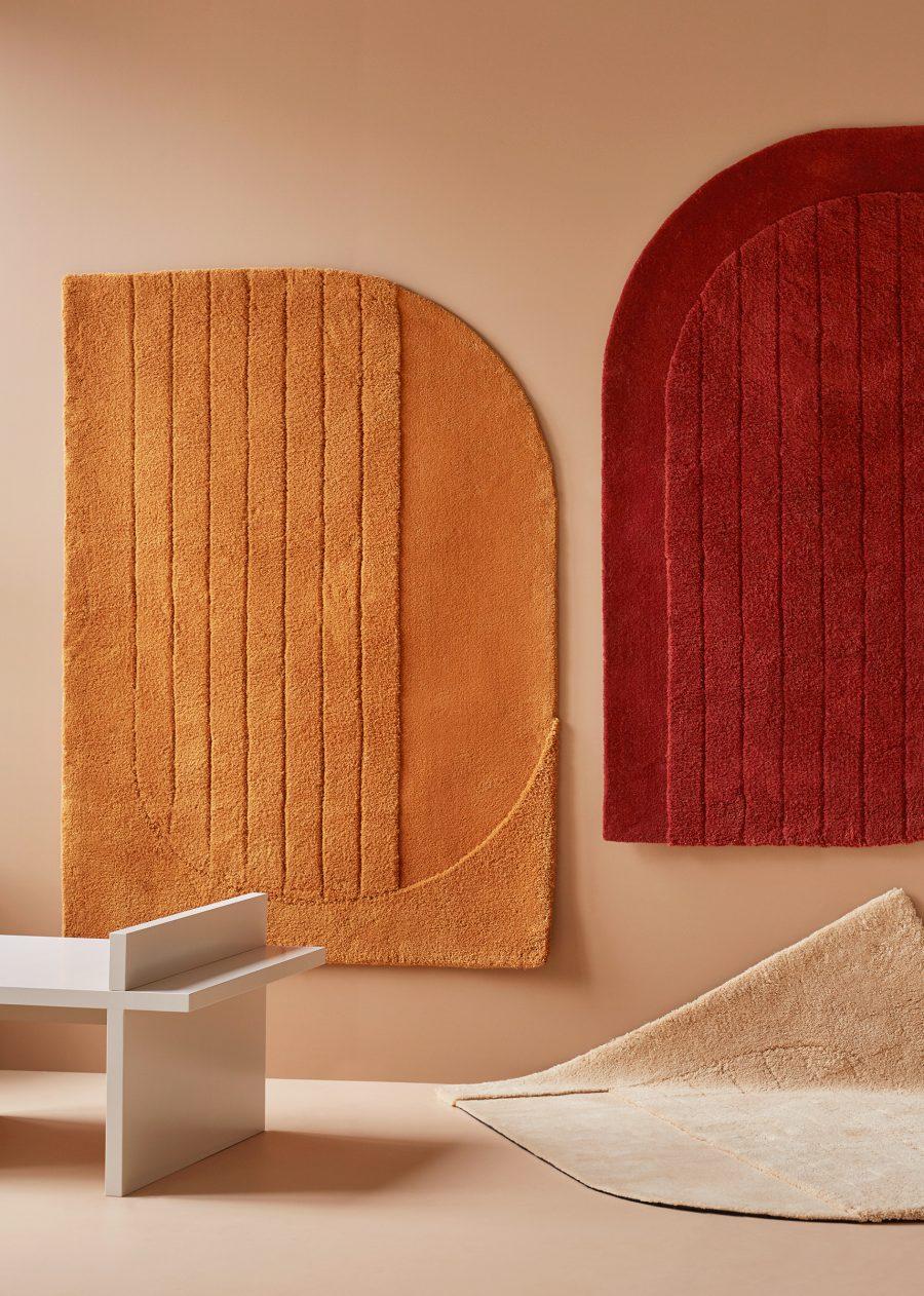 Handtuftad matta Napa, designsamarbete med Note Design Studio.