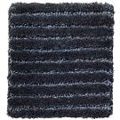 Handtuftad matta Astro Line färg Deep Blue blå.