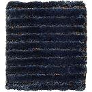 Handtuftad matta Astro Line Metal färg Deep Blue LU03 blå.