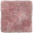 Handtuftad matta Astro färg Orchid Ice rosa.