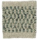 Handvävd matta Pixie färg Green Tea grön.