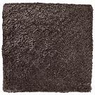 Handtuftad matta Astro i mörkbrun ton från Ogeborg Design Collection.
