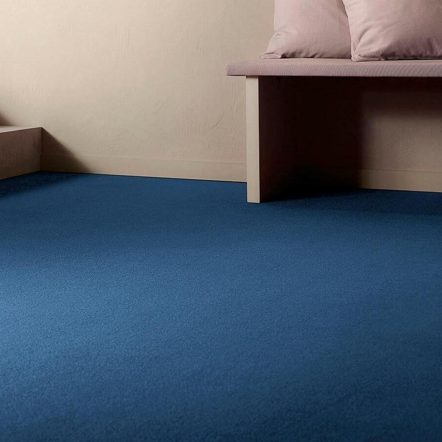 Textil platta Forma Superior 1017 färg 3P03 blå.