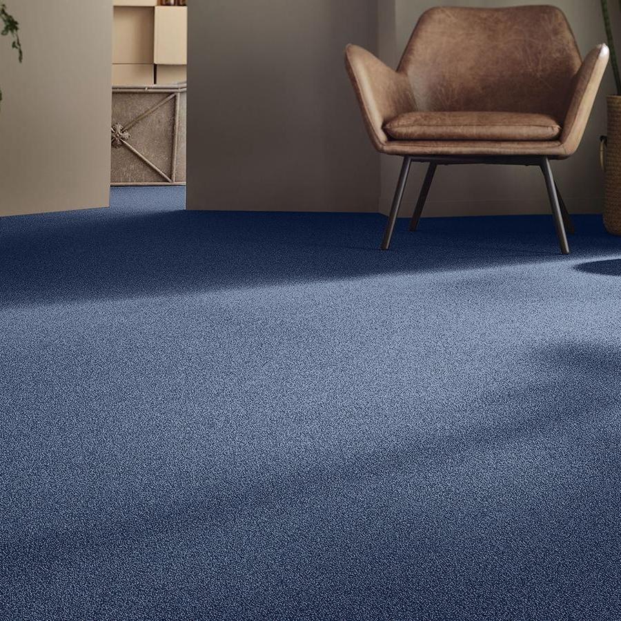 Heltäckande matta Punctum Essential 1032 färg 3P83 blå.