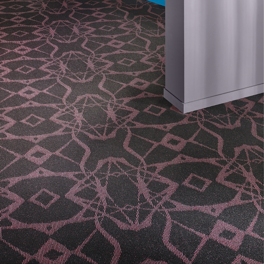 Heltäckande matta Contura Superior 1051 färg 9G03 svart.