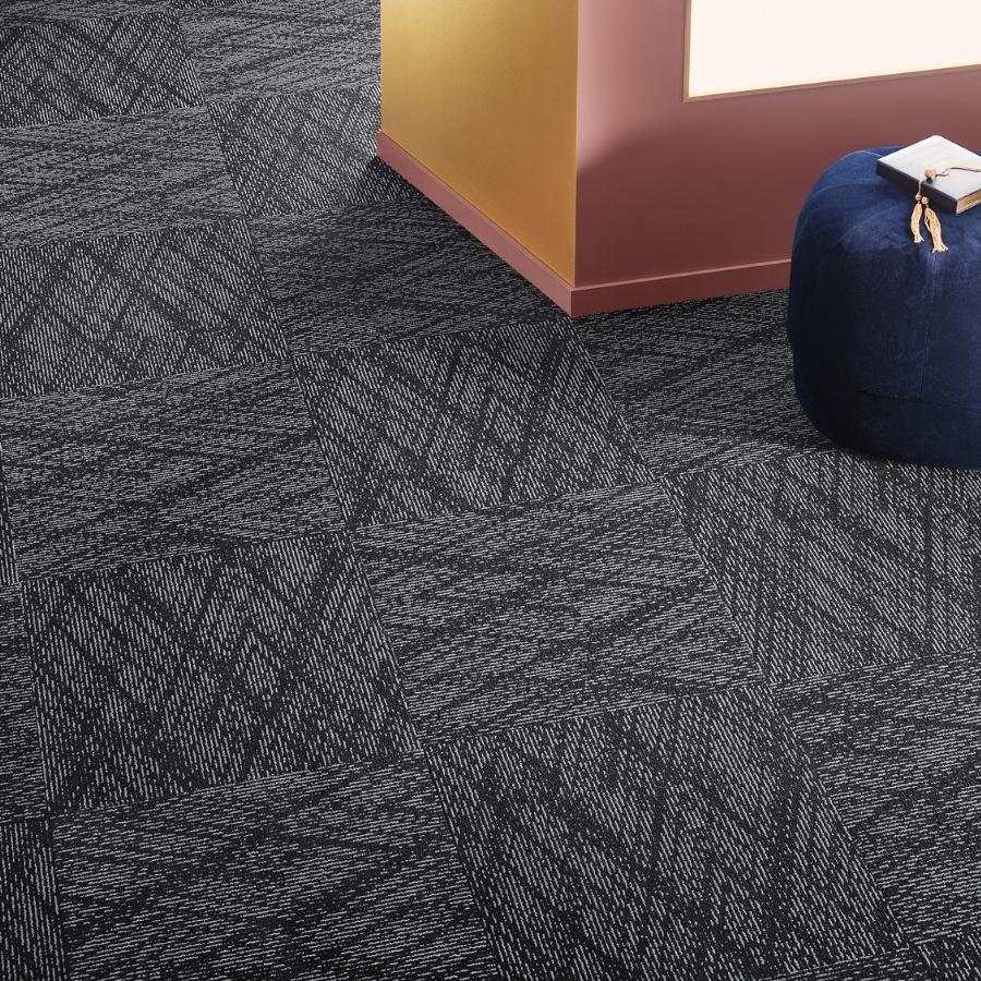 Textil platta Contura Superior 1051 färg 9G11 svart.