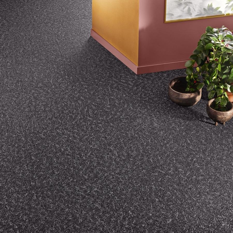 Textil platta Contura Superior 1053 färg 9G12 svart.