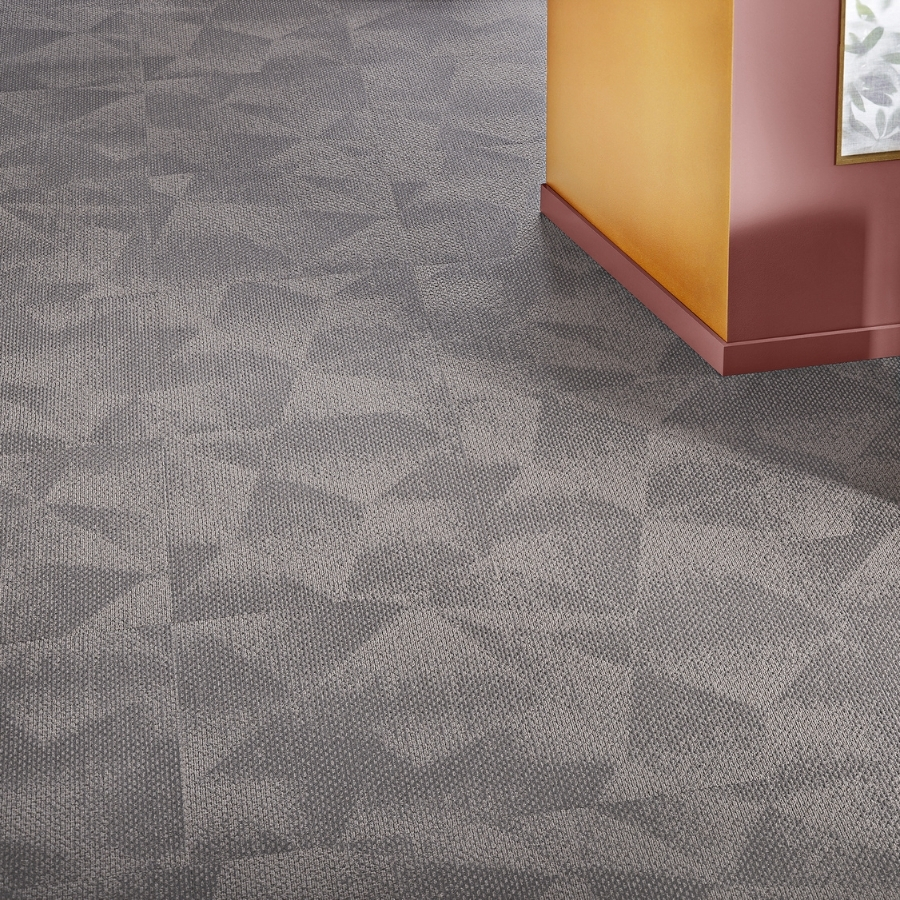 Textil platta Contura Superior 1054 färg 5X46 grå.