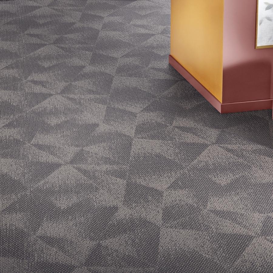 Heltäckande matta Contura Superior 1054 färg 5X46 grå.