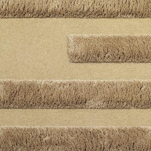 Handtuftad matta Space, färg Desert, designad av Sundling Kickén.