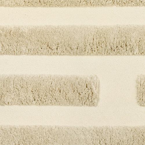 Handtuftad matta Space, färg Ivory, designad av Sundling Kickén.