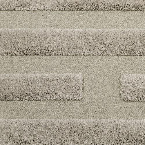 Handtuftad matta Space, färg Oyster, designad av Sundling Kickén.